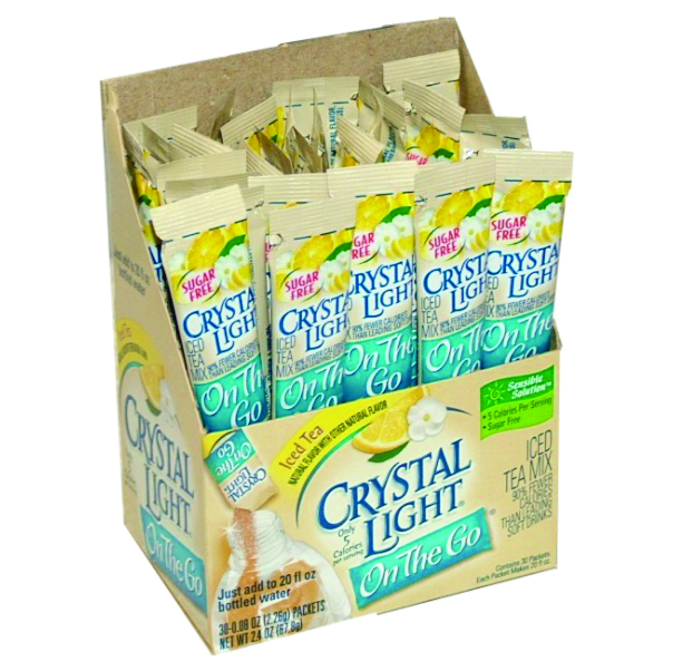 CRYSTAL LIGHT ICE TEA 30 CT B2506