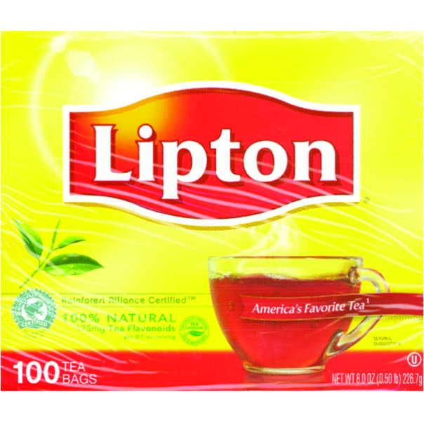 LIPTON TEA 100 CT B1500