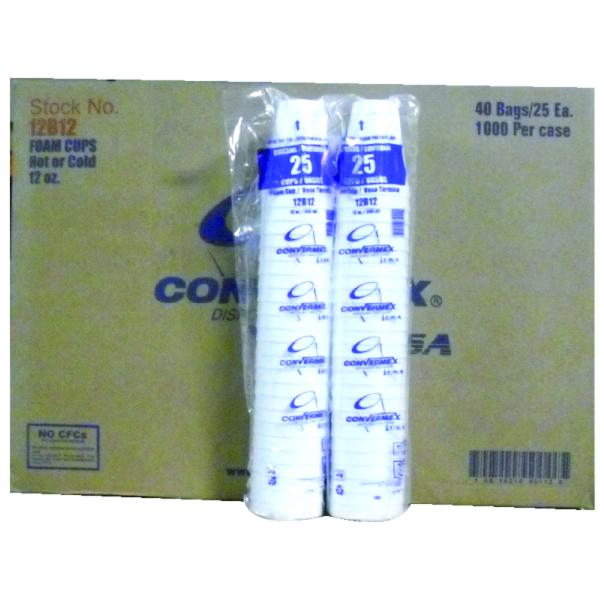 12 Oz CONEX CUP 1000 Ct B5016