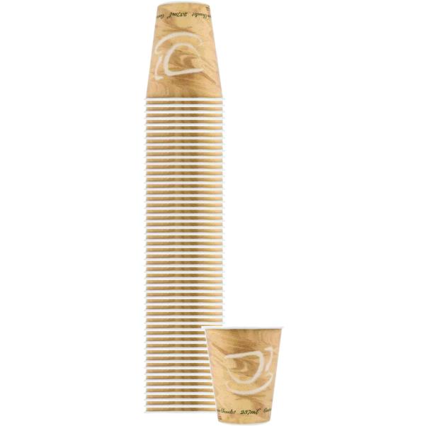 8 OZ HOT PAPER CUPS 50 CT B5007