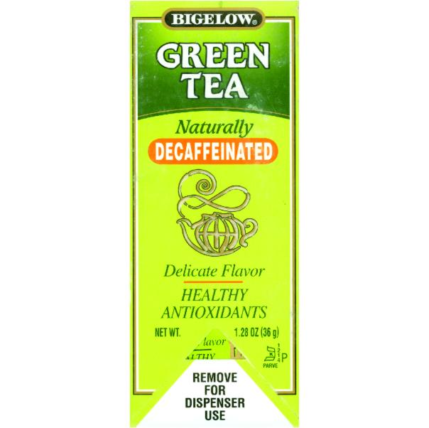 BT GREEN TEA DECAF 28 CT B3002