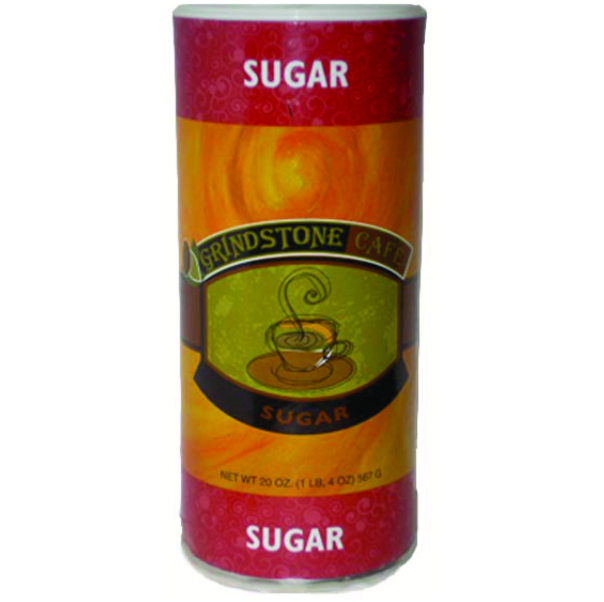 GRANULATED SUGAR CANISTER 20 OZ