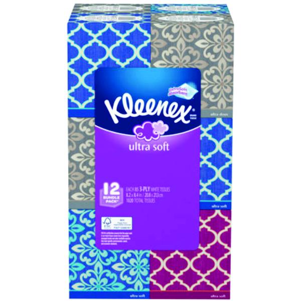 KLEENEX 12ct B1045