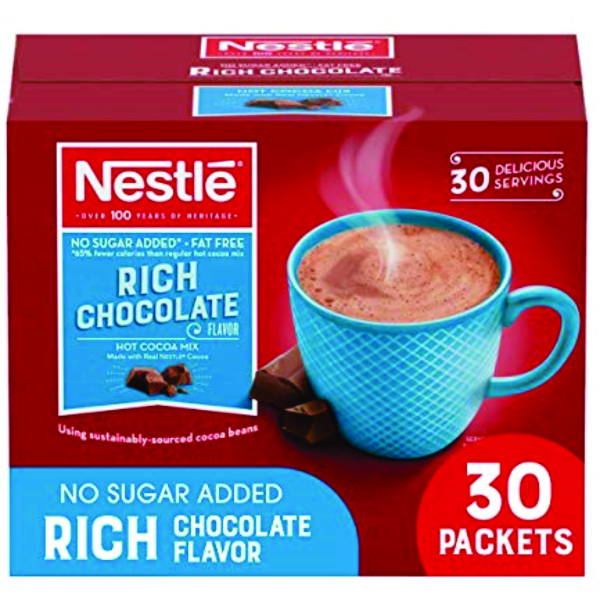 NESTLE SF HOT COCOA 30 CT B0502