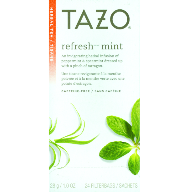 Tazo Tea Refresh Mint 24 Ct