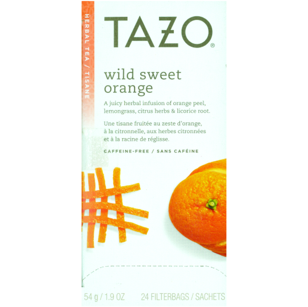 Tazo Tea Sweet Orange 24 Ct